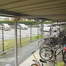 屋外駐輪場